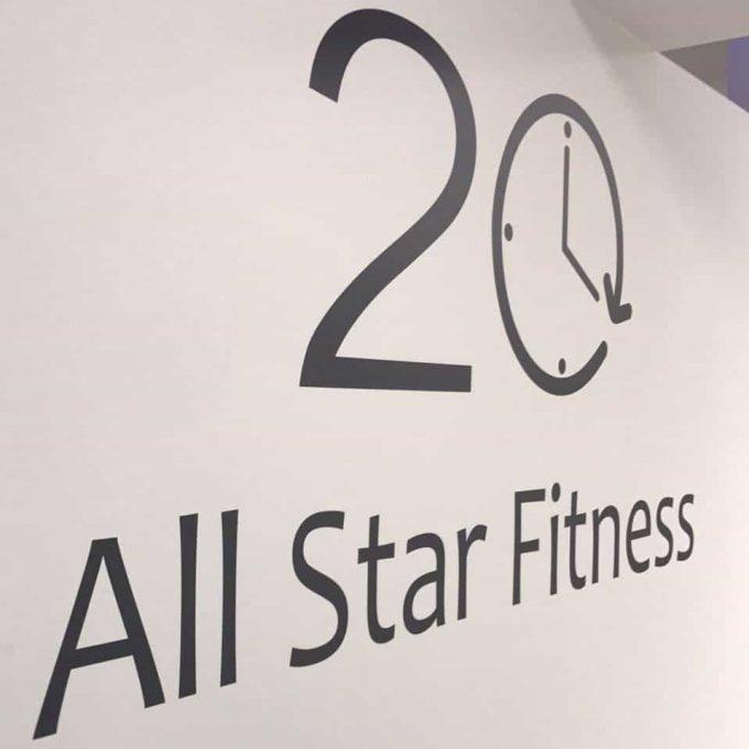 20′ All Star Fitness
